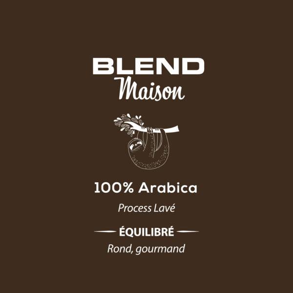 Café blend Maison